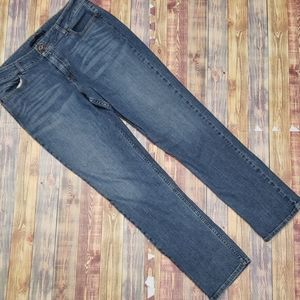 LEVIS WOMENS SLENDER STRAIGHT JEANS SIZE 16